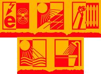 Symbole angeordnet 200